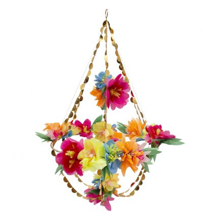 Lustre fleurs en papier, Meri Meri
