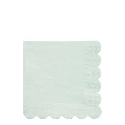 Serviettes en papier, vert, Meri Meri