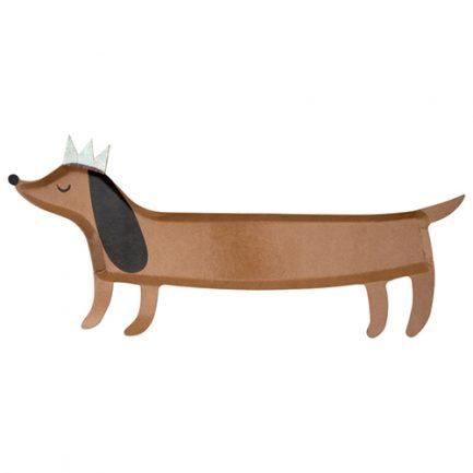 Plateau chien saucisse, Meri Meri
