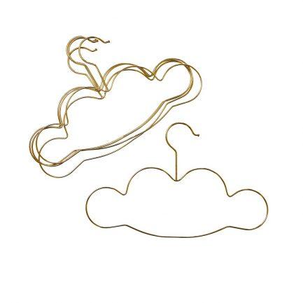Cintres nuages, doré, Rice