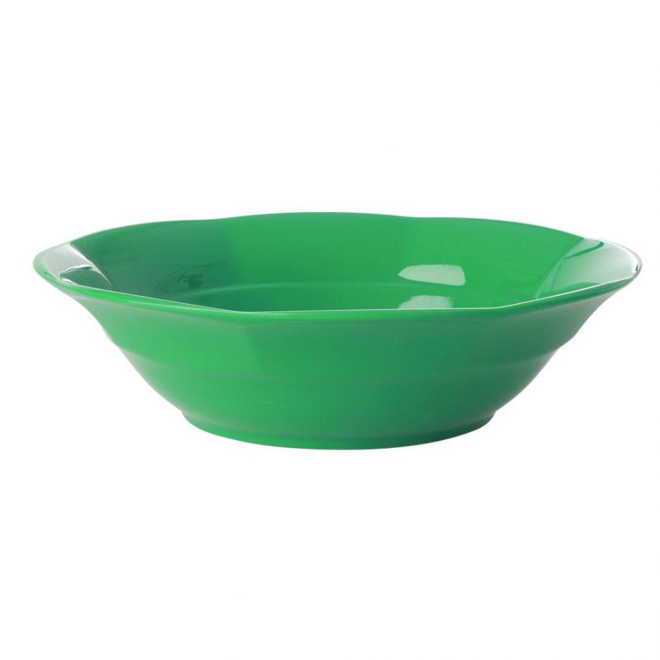 Assiette à soupe, Vert, Rice