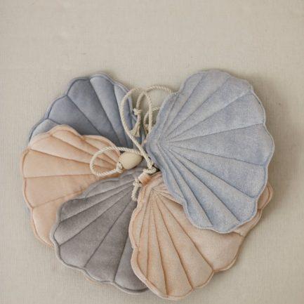 Guirlande coquillage, Blue pearl, Moi Mili