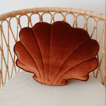 Coussin coquillage, Copper pearl, Moi Mili