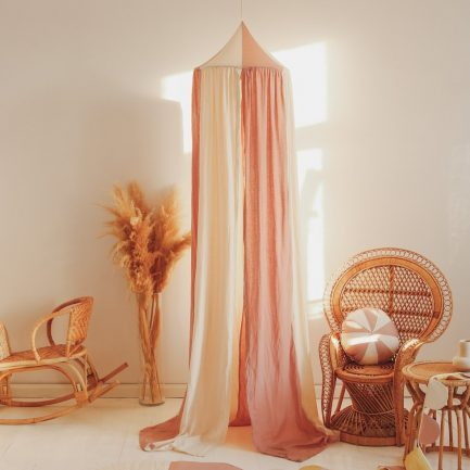 Ciel de lit, Powder pink circus, Moi Mili
